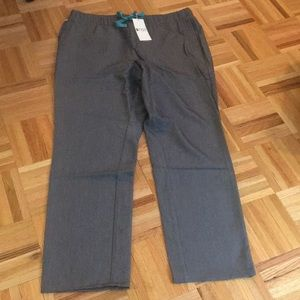 Brand new grey FIGS Tonota scrub pants